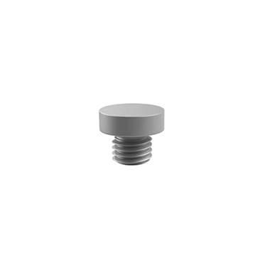 Flat Button Finial